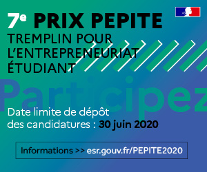Ouverture des candidatures au Prix PEPITE 2020