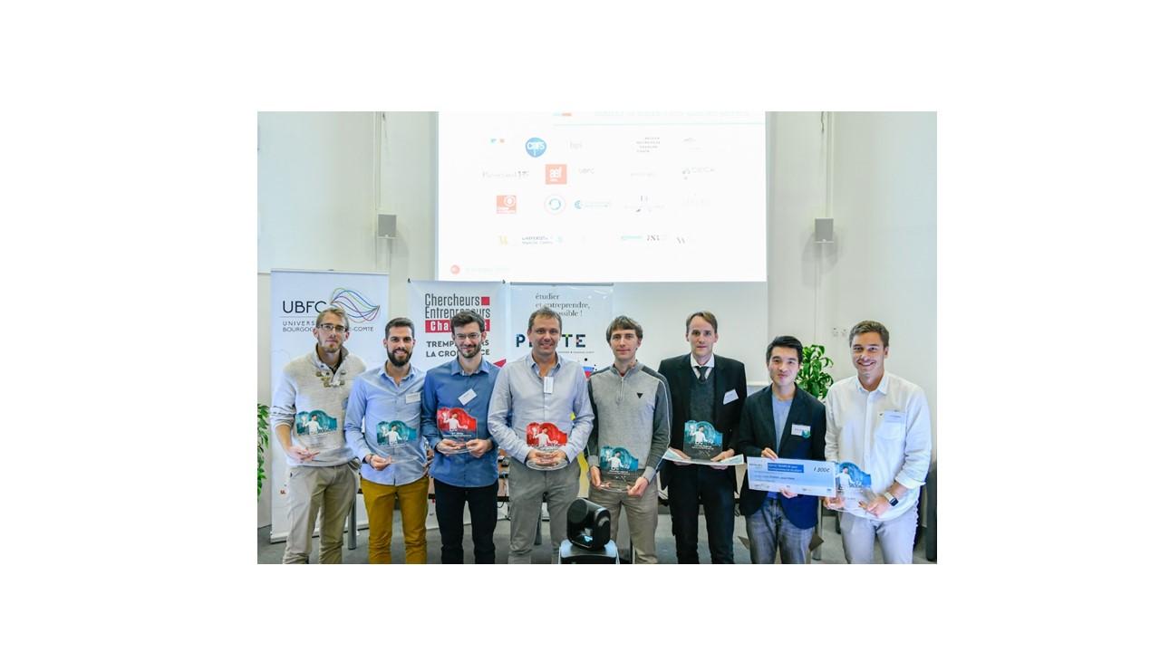 Les lauréats du concours PEPITE 2019