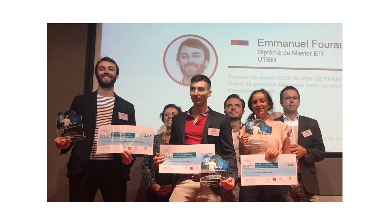Remise des prix aux lauréats régionaux du 5ème concours PEPITE - 16/10