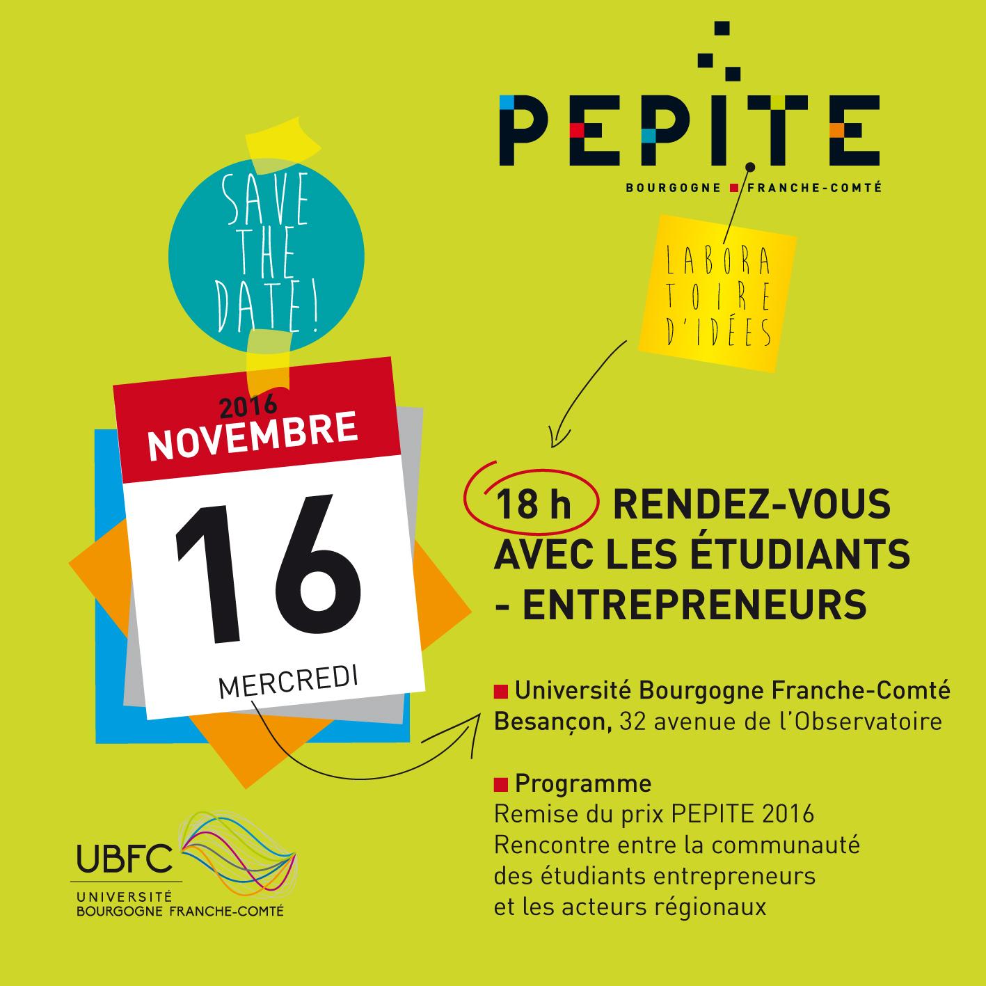 SAVE THE DATE ! RDV avec les étudiants entrepreneurs
