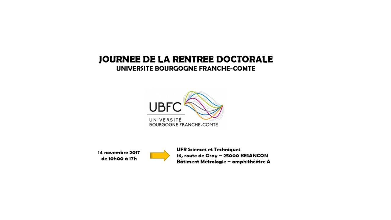 Journée de rentrée doctorale 14/11/2017 - présentation des actions PEPITE