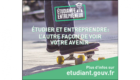 Nouvelle session statut d'étudiant entrepreneur