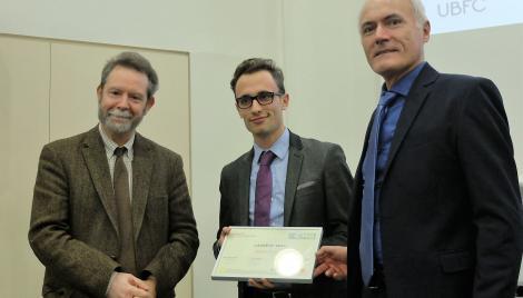 Jérémy PAILLE lauréat du prix PEPITE 2015