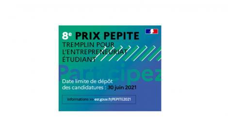 Le concours PEPITE 2021