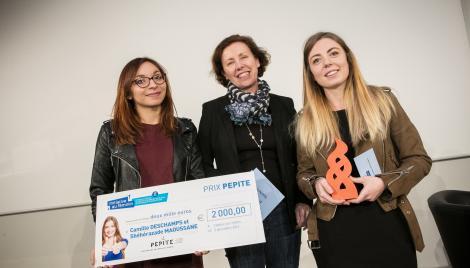 """Prix PEPITE concours """"Initiative au féminin"""" 2016"""