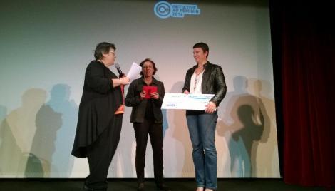 Florence Gachelin Prix PEPITE 2014
