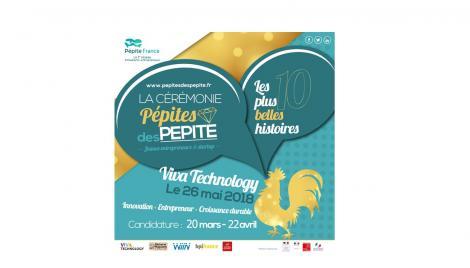 """Cérémonie """"Pépites des PEPITE"""" : candidatez avant le 22 avril 2018 !"""
