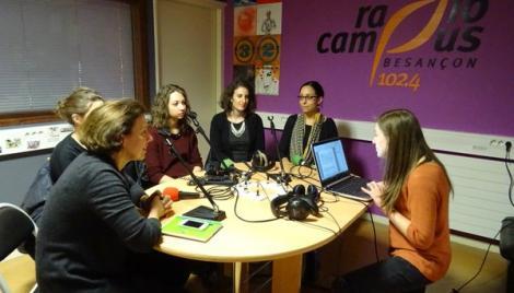 Le 17 mars des étudiantes entrepreneures témoignent à Radio Campus