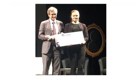 "Bravo Elizaveta KORZHOVA ! prix spécial ""étudiante"" concours INITIATIVE AU FEMININ"