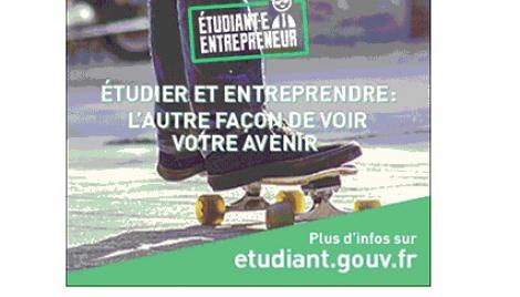 Candidatez au statut d'étudiant entrepreneur !