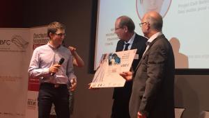 Chercheurs Entrepreneurs Challenges : V. Gauthier EE 2018-2019 obtient le 1er prix en BFC