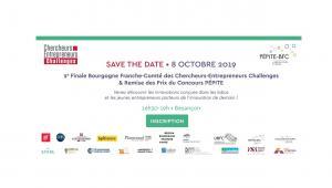 Save the date ! remise des prix concours PEPITE BFC - 8/10 Besançon