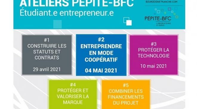 [#Atelier PEPITE BFC] le cycle des ateliers thématiques a débuté !