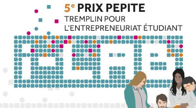 La 5ème édition du concours PEPITE Tremplin pour l'entrepreneuriat étudiant est lancée !