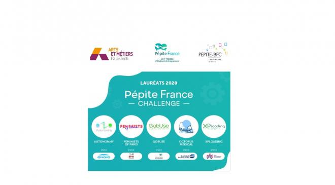 CONCOURS PEPITE FRANCE CHALLENGE 2020  #PFC2020