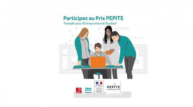 Quatrième édition du  prix PEPITE  - Tremplin pour l'Entrepreneuriat Etudiant - 2017