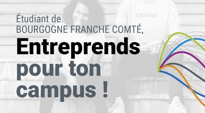 """Les gagnants du concours """"Entreprends pour ton campus"""""""