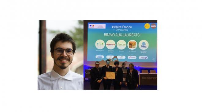 BRAVO JULIEN ! PRIX PEPITE CHALLENGE 2020